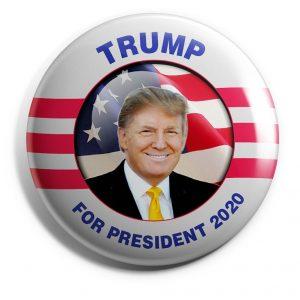 Trump Patriotic button