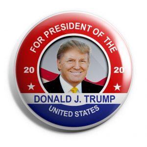 For President Donald trump Button