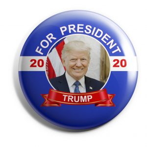 Donald trump Banner button