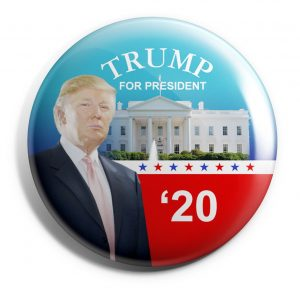 Trump Campaign Button 20