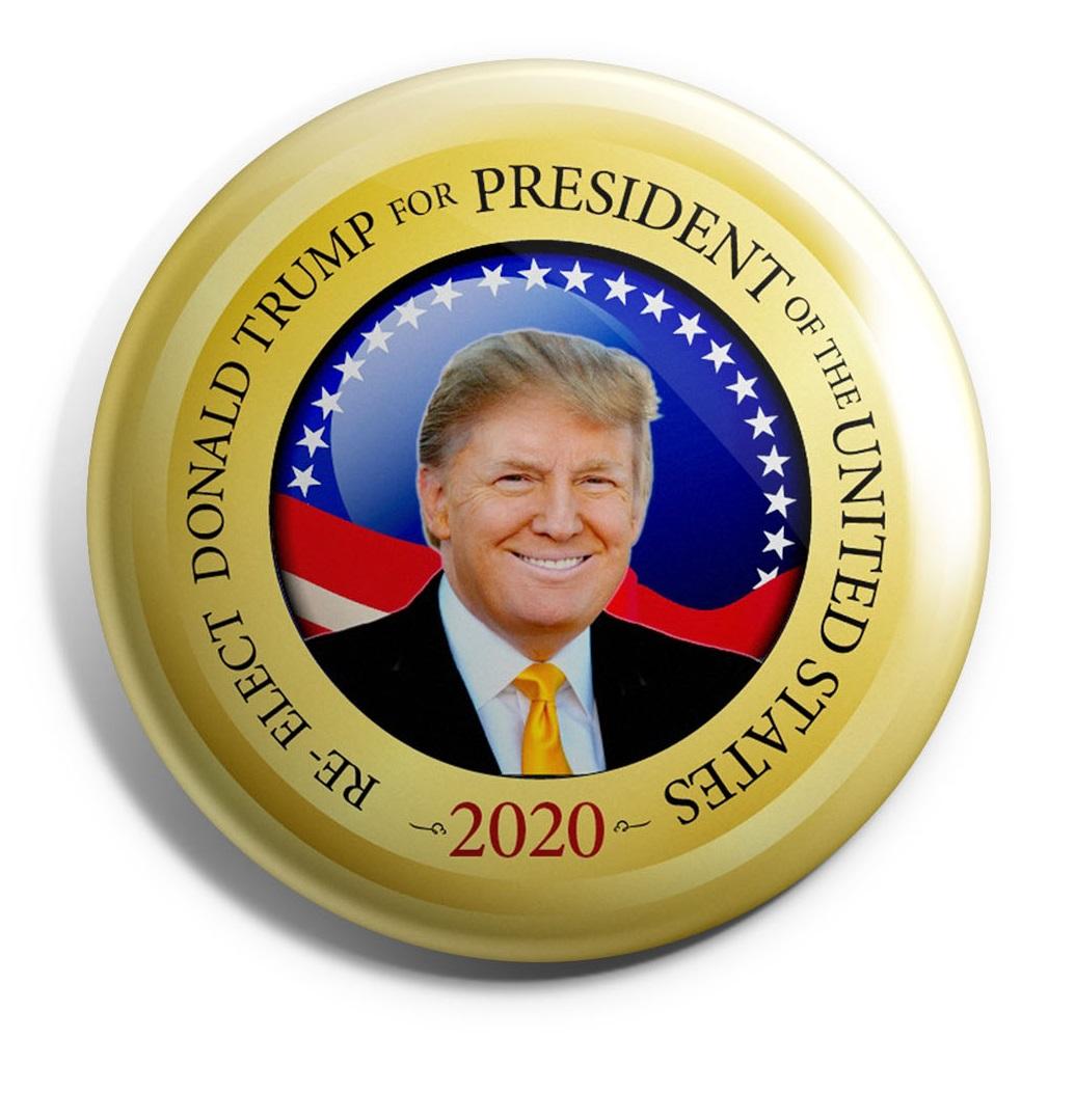 Donald Trump Wholesale Buttons
