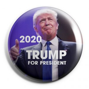 Thumbs up Trump Button