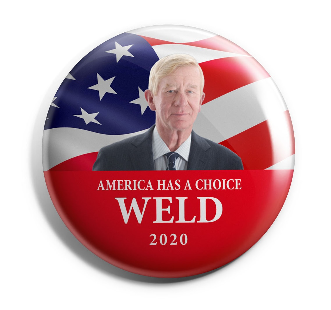 Bill Weld 2020 Wholesale Buttons