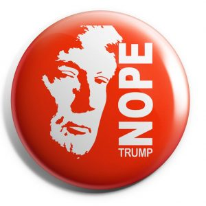 Anti Trump Nope Button