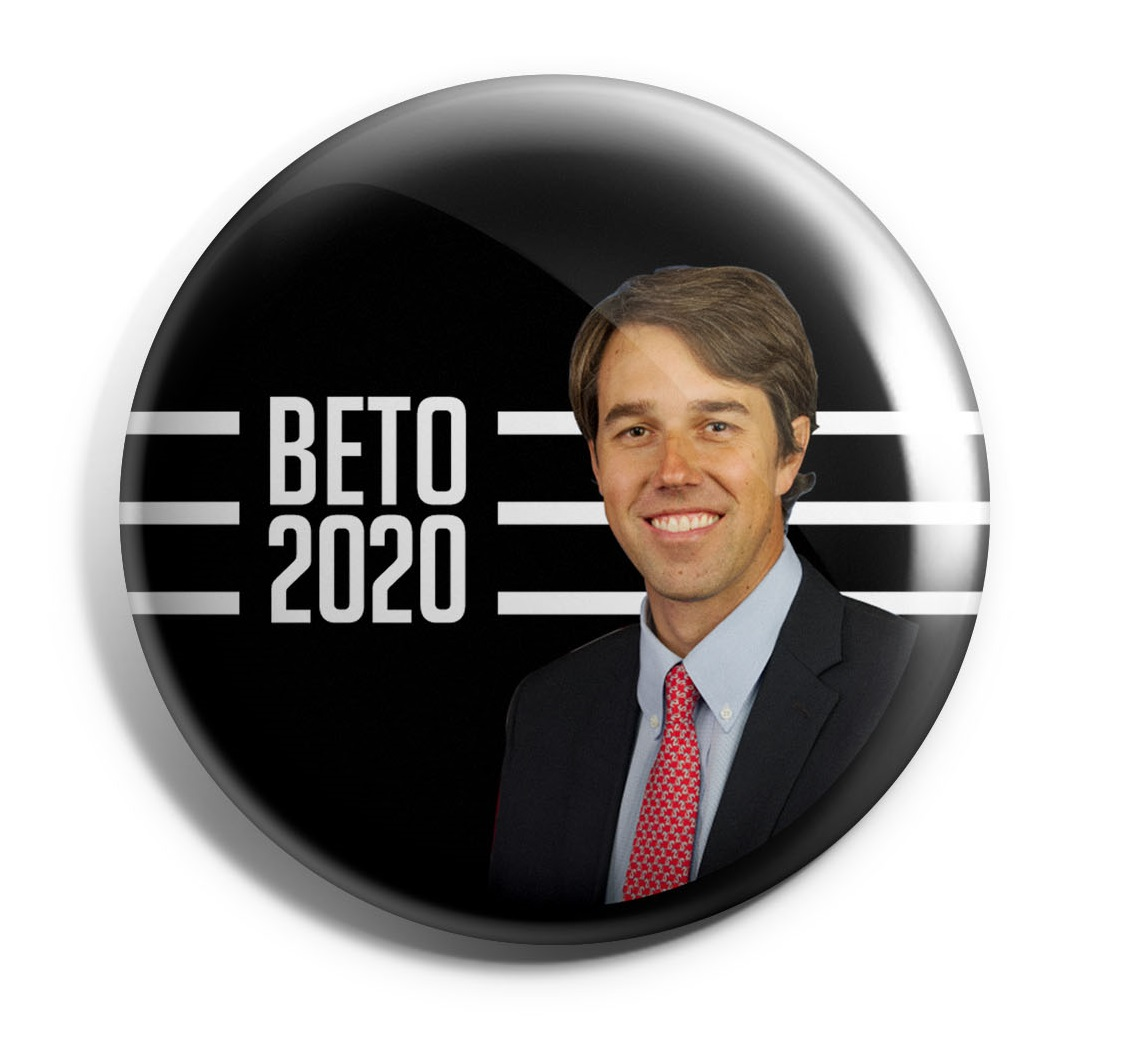 Beto O'Rourke Wholesale Buttons