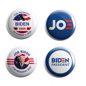 Blue Joe Biden Button