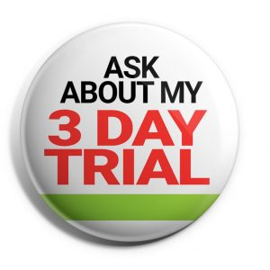 Ask About my 3-Day Trial Button ((HERB-12)