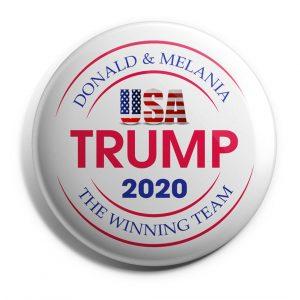 Melania Trump Button