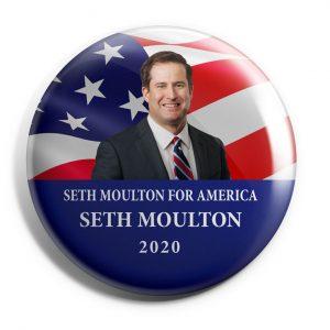 Seth Moulton wholesale buttons