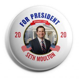Seth Moulton Wholesale Campaign Buttons