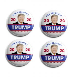 2020 Trump Campaign Button set of 4