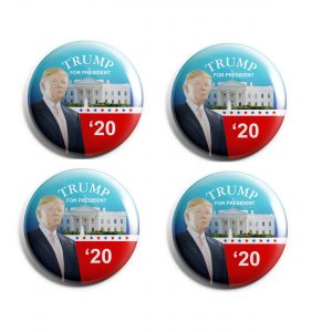 For President Trump 20 button