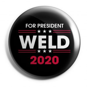 For President Weld Button