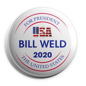 USA Bill Weld Button