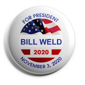 Patriotic Bill Weld Button