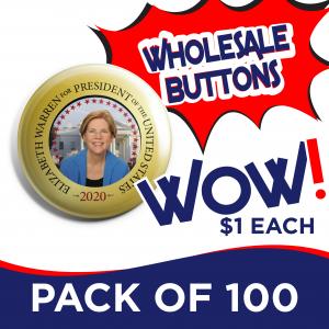 Warren Pack of 100 Buttons