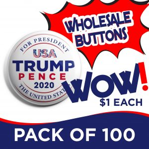 Donald Trump Pack of 100 Buttons