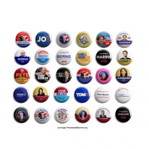 Democrat Button Collectors Set of 30 (DEM-30-001)