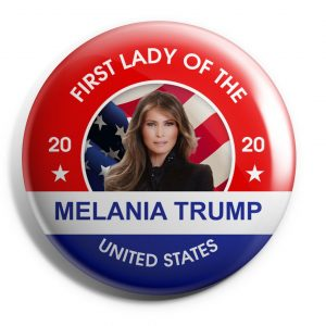 First Lady of the United States Button