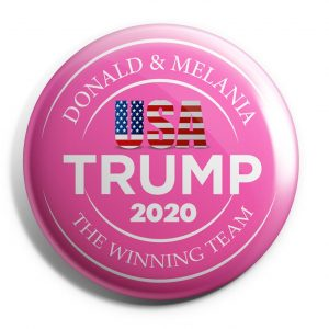 Donald and Melania Buttons