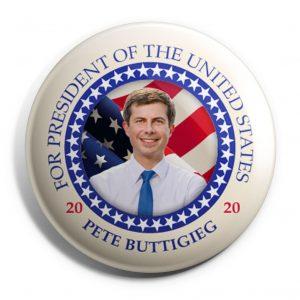 Pete Buttigieg Button