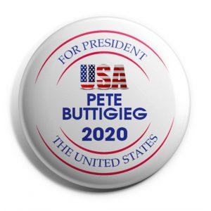 USA Pete For President Button