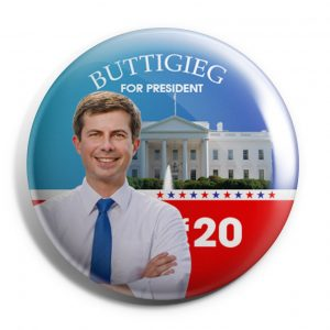 Buttigieg For America Button