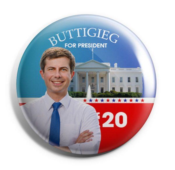 Buttigieg For America Button