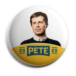 Pete 2020 Logo Button