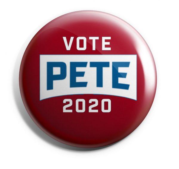 Vote Pete 2020 Button
