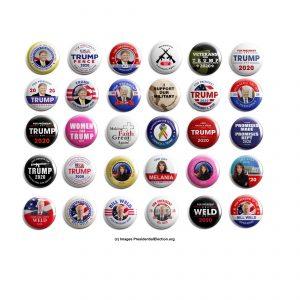 Republican Button Collectors Set of 30 (REP-30-001)