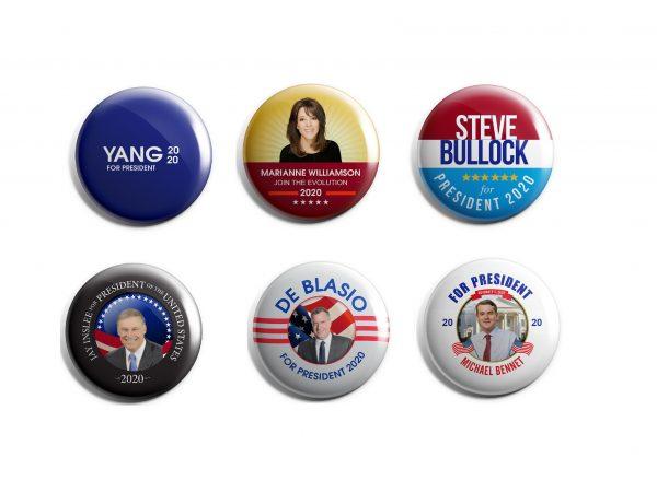 Democrat Buttons - Part 3