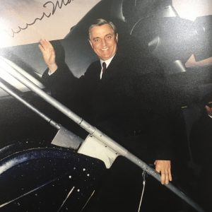 Walter Mondale Signature