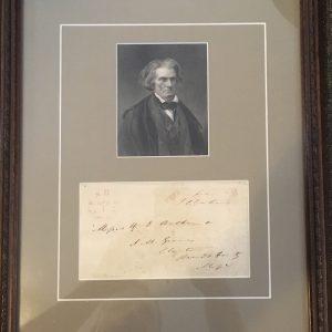 John C. Calhoun Authentic Signature