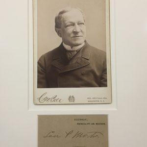 Levi Morton Authentic Signature