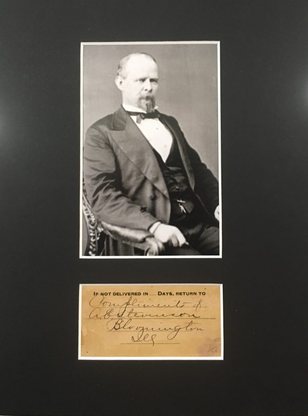 Adlai Ewing Stevenson Signature