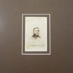 Schuyler Colfax Signature