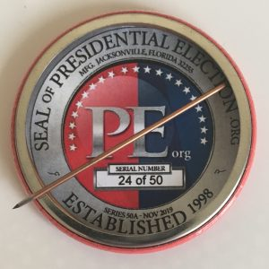 Trump Limited Edition Button