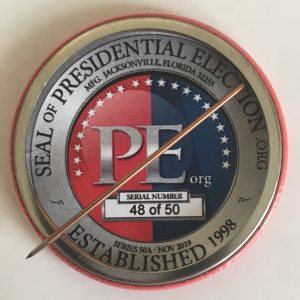Donald trump Limited Edition Button