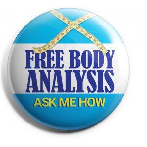 Herbalife Button Free Body Analysis (HERB-01)