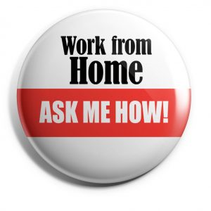 Work At Home Button