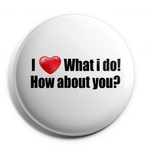 Herbalife Button I love what I do (HERB-011)