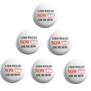 Herbalife 6-Pack Buttons (HERB-SE-003-X6)