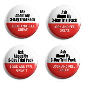 Three Day Trial Buttons