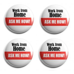 Work at Home Herbalife Buttons