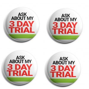 Herbalife 4-Pack Buttons (HERB-SE-012-X4)