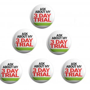 Herbalife 6-Pack Buttons (HERB-SE-012-X6)