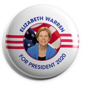 For President 2020 Elizabeth Warren Wholesale Buttons (WARREN-SE-014)