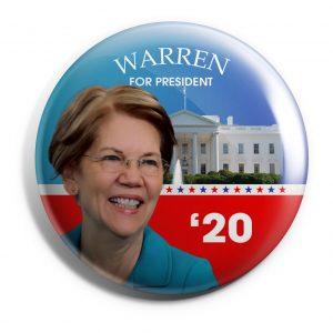 Elizabeth Warren Wholesale Buttons (WARREN-SE-018)