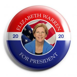 Elizabeth Warren Wholesale Buttons (WARREN-SE-023)